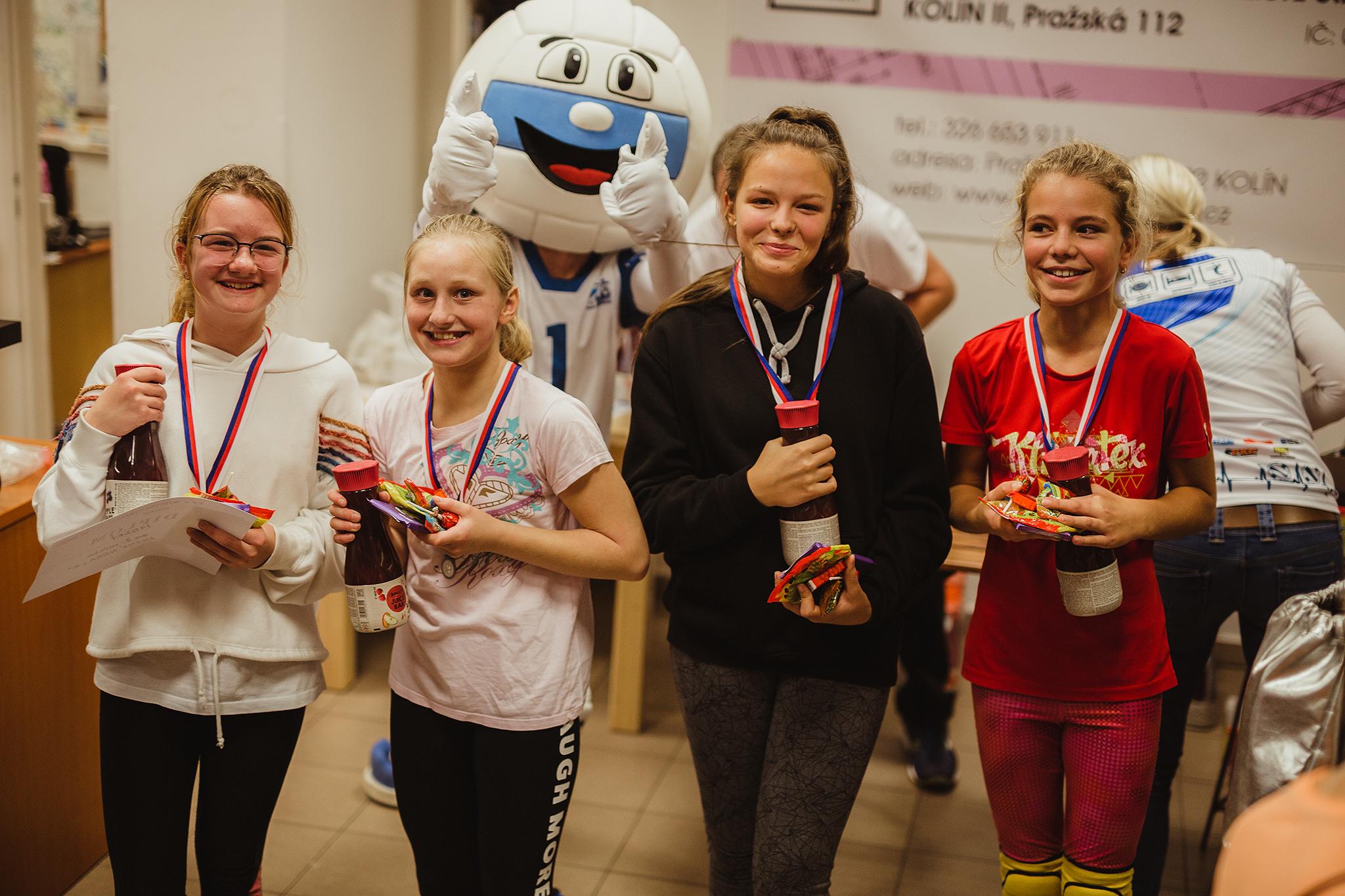 První kolo KP Minivolejbalu je za námi (17.11.2019, Kolín)