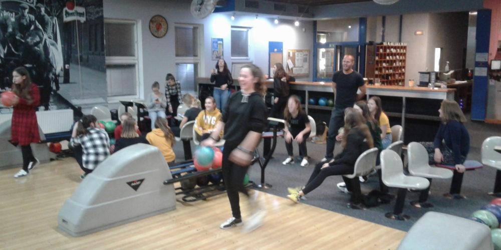 Vánoční besídka na bowlingu